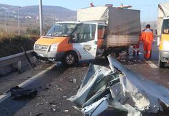 Otomobil, Karayollarının kamyonetine çarptı
