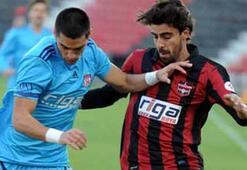 Gaziantepspor - Sivasspor: 0-1