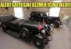 Atatürkün makam araçları bakıma alınıyor
