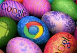 Googleın 2012 sürpriz yumurtaları