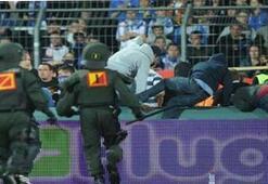 Almanyada futbol terörüne geçit yok