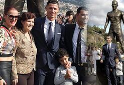 Cristiano Ronaldonun heykeli dikildi Ronaldonun kariyeri nasıl gelişti