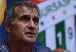 Şenol Güneş: Beşiktaş maçı bittiğinde...