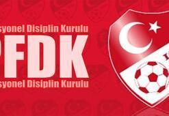 Fenerbahçe, Trabzonspor ve Bursaspor, PFDKda