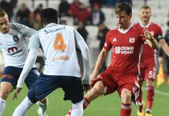 Demir Grup Sivasspor - Medipol Başakşehir: 1-0