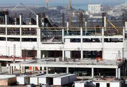 Yeni Samsun 19 Mayıs Stadının yüzde 30u tamam