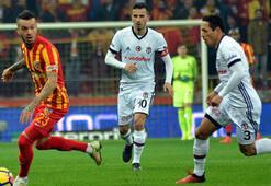 Kayserispor - Beşiktaş maç özet: 1-1