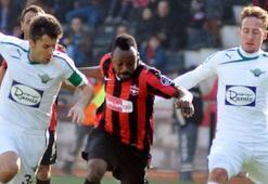Gaziantepspor - Akhisar Belediyespor: 1-1