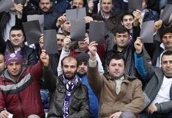 Orduspor taraftarından ilginç protesto