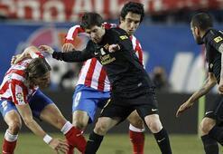 Ardalı Atletico, Messi ve arkadaşlarına karşı