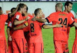 Barcelona namağlup liderliğini sürdürüyor