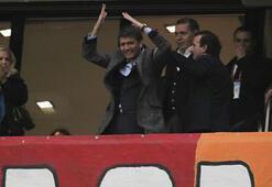 Başkan Dursun Özbekin locasına tepki