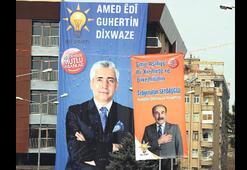Ak Parti'den Kürtçe afiş