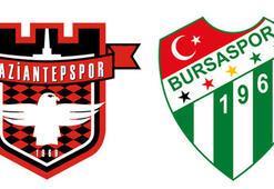 Gaziantepspor Bursaspor maçı ne zaman, saat kaçta, hangi kanalda