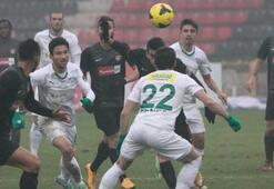Gaziantepspor-Bursaspor: 1-2