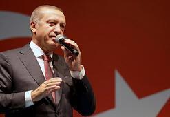 Cumhurbaşkanı Erdoğandan KKTC Cumhurbaşkanı Akıncı'ya 20 Temmuz mesajı