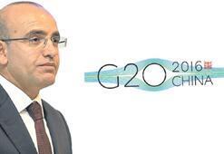 Şimşek, G20 için Çin yolcusu