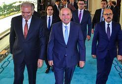 Kadir Topbaş, Başkan Uysalı ziyaret etti