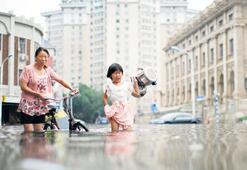 Çin'de sel can almaya  devam ediyor: 14 ölü