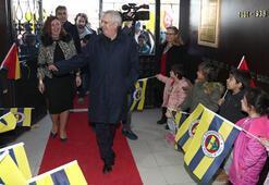Aziz Yıldırım, Bursa'da pota açılışı yaptı
