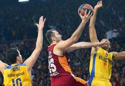 Galatasaray LH Maccabiye direnemedi