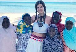 Sevil Uyar tatil için Zanzibarı seçti