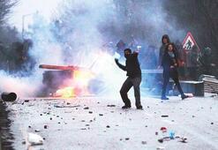 ODTÜ'de polis ve öğrenci çatışması