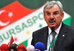 Recep Bölükbaşı, Bursasporun hedefini açıkladı
