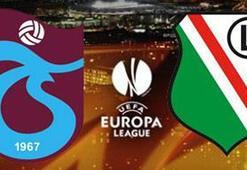 Trabzonspor Legia Varşovaya evinde mağlup oldu