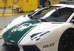 Suçluları Lamborghini ile yakalayacaklar