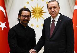 Cumhurbaşkanı Erdoğan Hindistanlı oyuncu Khanı kabul etti