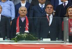 Başbakan Yıldırım ve TFF Başkanı Demirörenden destek