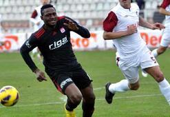 Sivassporda gol yükünü yabancılar çekti