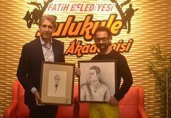 Sulukule Sanat Akademisi'nde Aamir Khan'a büyük sürpriz