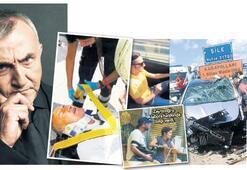 Canlı yayında kaza