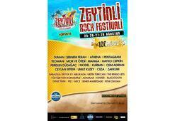 Zeytinli Rock Festivali yola devam ediyor