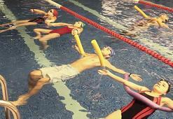 Suyun hafifliği sporla buluşuyor