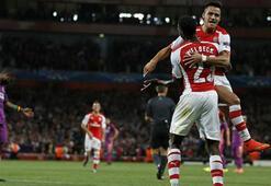 Galatasaray Arsenal karşısında tutunamadı