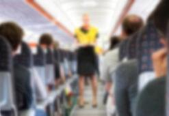 Yolcunun yaptığı hareket uçağı geri döndürdü