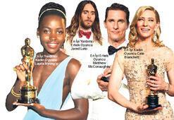 Oscar bu  kez şaşırtmadı