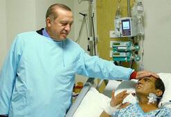 Cumhurbaşkanı Erdoğan, Süleymanoğlunu ziyaret etti