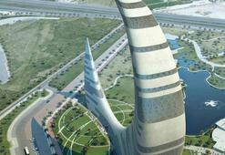 Dubai Moon Tower tasarımıyla dikkat çekiyor