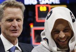 Steve Kerr: Currynin sakatlığı takım için iyi oldu