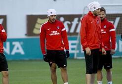 Trabzonspor 9 eksikle çalıştı