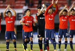 Finalin ilk maçında Independiente, Flamengoyu mağlup etti