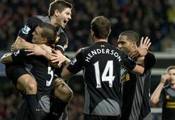 28 dakikada Liverpool