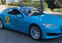 Tesla İstanbul sokaklarında taksi olarak boy gösterecek
