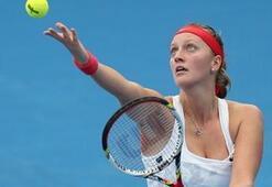 Kvitova varlık gösteremedi
