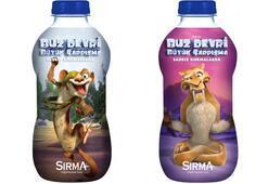Buz Devri kahramanları Sırma şişelerinde