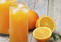 Portakal suyu cildi güzelleştiriyor